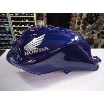 Tanque Combustível Moto Honda Cg125 Fan Azul 2013 Frete Grat