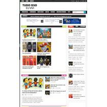 Tema Para Blogger Premium P/ Portais De Notícias!