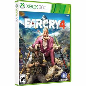 Game Far Cry 4 Xbox 360 Mídia Física Dvd Original Lacrado Pt