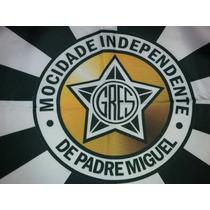 Bandeira Carnaval Mocidade Independente Padre Miguel - Média
