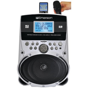 Emerson Sd513 Sistema De Karaoke
