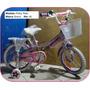 Bicicleta Para Niñas Pinky Ride. Marca Greco. Rin 16 Cross
