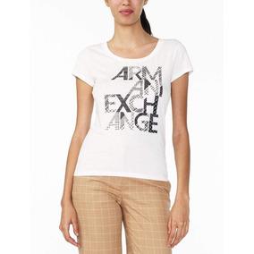 Remera Armani Exchange - Blanco- 004