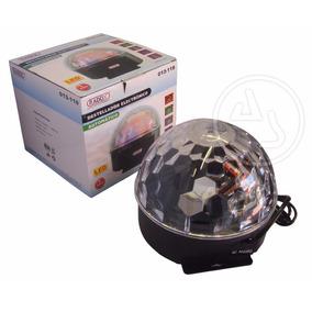 Esfera Luz Magica De Leds Destellos Automatico Crystal Ball