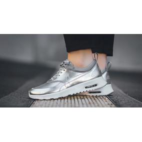Zapatos Nike Air Max Thea Premiun De Damas