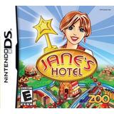 Janes Hotel - Nintendo Ds Por Zoo Games