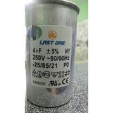 Capacitór Trabajo 4mfd 250v