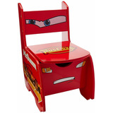 Fun Spaces Silla Infantil Cars C/ Juguetero Rayo Mcqueen Msi