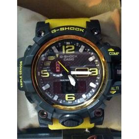 2d99b1550d3 Relogio G Shock Preto Amarelo - Relógios De Pulso no Mercado Livre ...