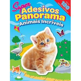 Animais Incriveis - Super Adesivos Panorama