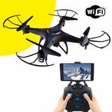 Drone Quadricoptero Con Control Remoto Camara Wi-fi Luces