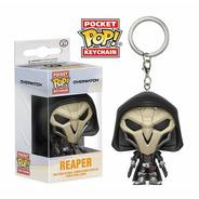Funko Pop Pocket Keychain Llavero Overwatch Reaper