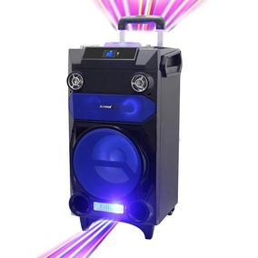 Caixa De Som Amplificadora Bluetooth 300w Rms Amvox - Aca300