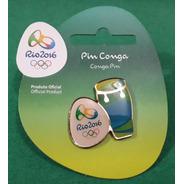 Pin Olímpico - Rio 2016 - Col Samba - Conga - Memorabilia