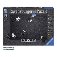 15260 Todo Negro Rompecabezas 736 Piezas Xl Ravensburger