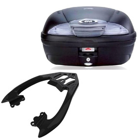 Kit Cb300r Bauleto Givi E450nt 45 Litros + Bagageiro Scam