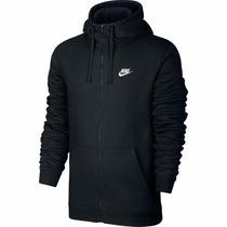 Jaqueta Nike Masculino Club Fz Hoody - Swoosh 100% Original