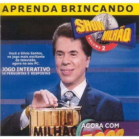 Game Lacrado Pc Show Do Milhao Volume 2 Silvio Santos