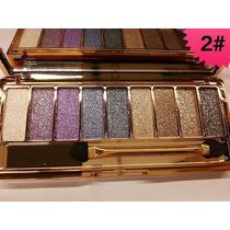 Sombra Brilho Glitter Paleta Eye Shadow Cm Espelho Luxuosas