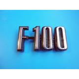 Emblema F-100 Ford Camioneta Camion Clasico