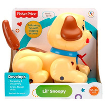 Perrito Pequeño Snoopy De Fisher Price Para Niños