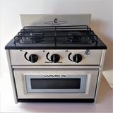 Anafe Cocina 2 Dos Hornallas Con Horno Gas Envasado Garrafa