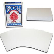 Cartas Doble Blancas Para Trucos De Magia Bicycle Original