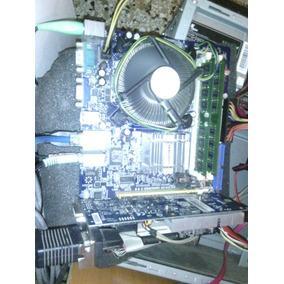 Tarjeta Madre Foxconn G31mv-k + Procesador + 4gb Ram