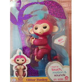 Fingerlings Monito Monkey Interactivo Glitter - Original