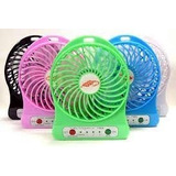 Mini Ventilador Usb Portatil Recargable