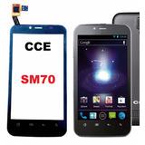 Tela Touch Cce Sm70 Pronta Entrega! Mobi 2 Chip