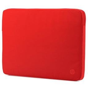 Funda De Notebook Hp 14 Sleeve Roja Tienda Oficial Hp