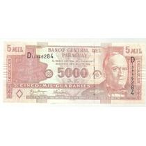 Paraguay 5000 Guaranies 2005