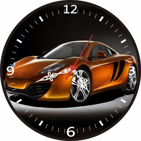 Tuning Car - Lindo Relógio De Parede