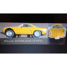 Miniatura Carros Inesquecíveis Do Brasil