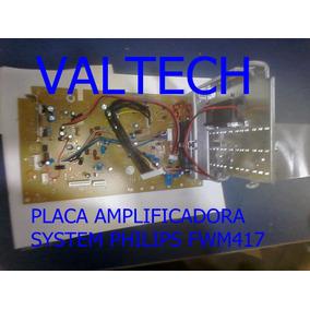 Placa Amplificador Som Placa Fwm417 Philips Nova Original