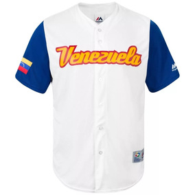 Camisa Venezuela Clasico Mundial Beisbol 2017 Adultos Niños