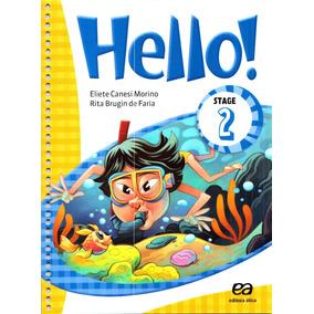 Livro 2º Ano. Hello Stage 2. Eliete Canesi Morino - 003