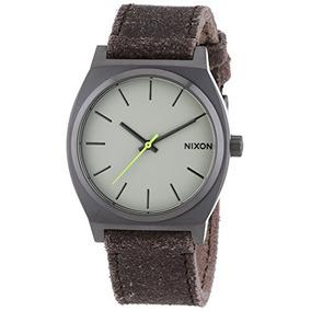 Nixon - Reloj Analógico Unisex De Cuero Resistente Al...