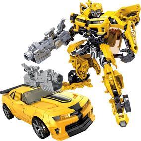 Juguete Combo Transformer Bumblebee + Dinobot 20 Y 25cm