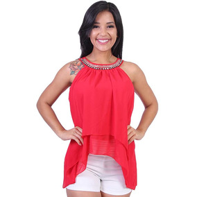 Blusa Feminina Com Babado Valentina - Asya Fashion