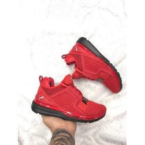 zapatillas pumas hombre rojas