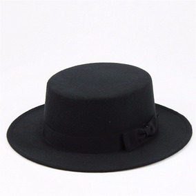 6d4cc01fa6953 Sombrero Negro Canotier Hipster Heisenberg Judio Pkp04