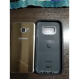 Celular Samsung S7 Edge 32gb Dorado (como Nuevo)