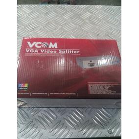 Video Splitter Vga Vcom 4 Puertos