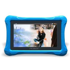 Tablet 7 Pulgadas Pcbox T715k Funda Protectora P/ Niños Azul