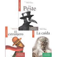 3 Libros El Extranjero / La Peste / La Caida / Albert Camus