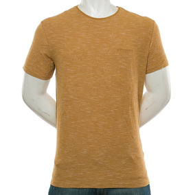 Remera Ken Tin Brown Quiksilver Fluid Tienda Oficial