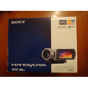 Sony Cámara Handycam Dcr Sr200 Nueva