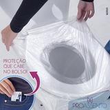 Protetor Assento Sanitário 30 Unids Proassento + 05 Amostras